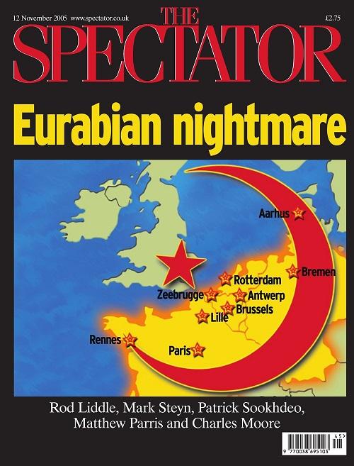 Spectator Eurabian Nightmare cover