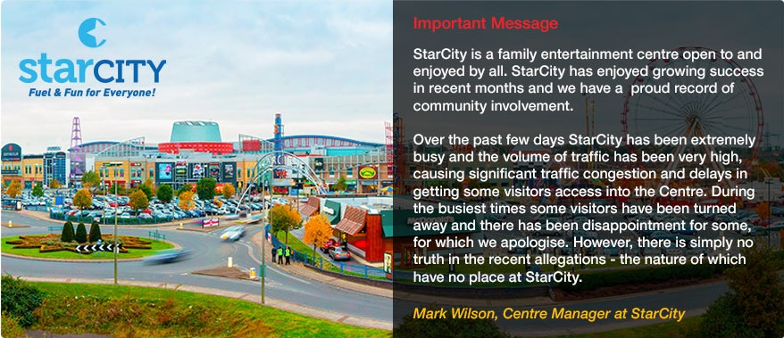 Star City statement