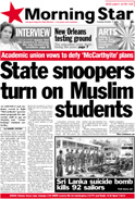 State snoopers turn on Muslim students