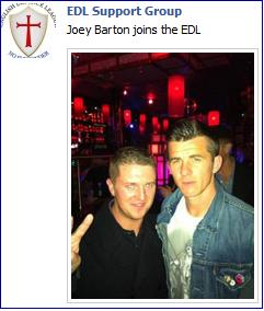 Stephen Lennon with Joey Barton