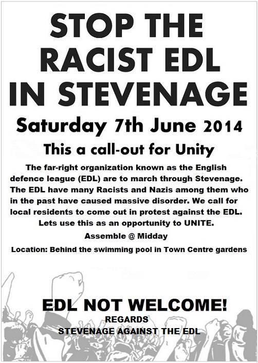 Stevenage Against the EDL