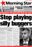 Stop Playing Silly Buggers