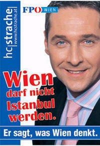 Strache poster
