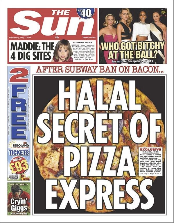 Sun Halal Secret of Pizza Express