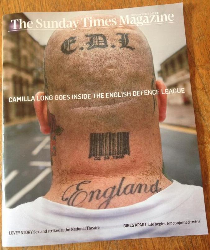 Sunday Times Magazine on EDL