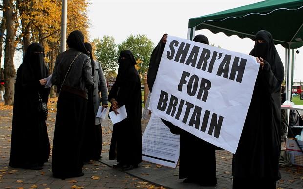 Telegraph Sharia for Britain