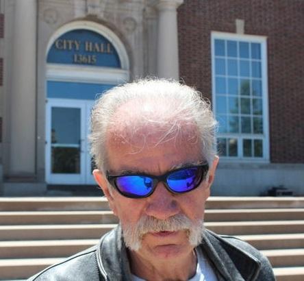 Terry Jones at Dearborn City Hall