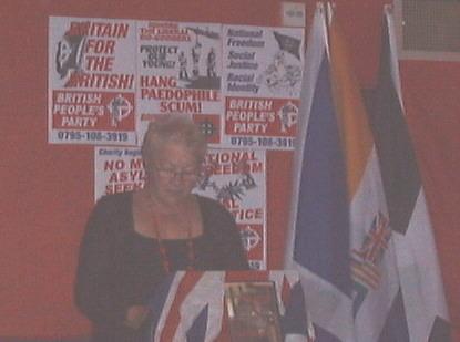Tess Culnane addresses BPP meeting