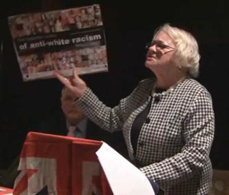 Tess Culnane at BNP meeting