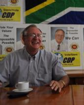 Theunis Botha at press conference