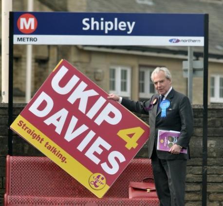 UKIP for Davies poster