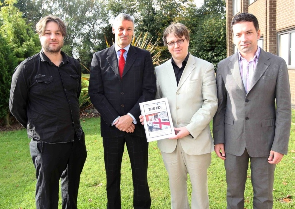 University of Northampton EDL study launch