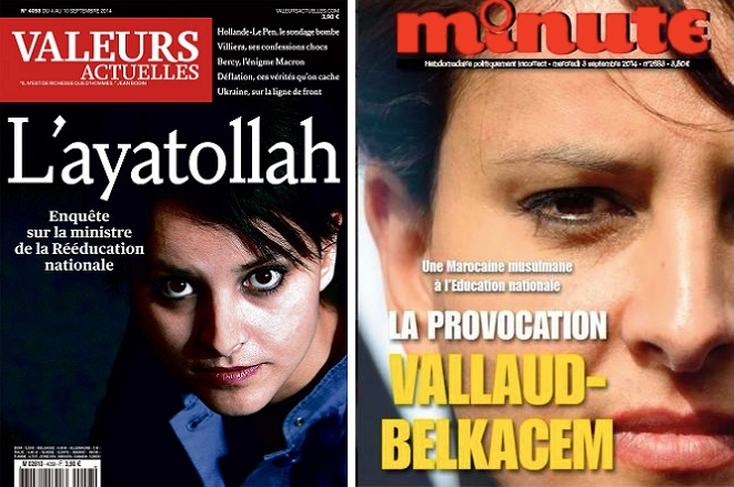Valeurs actuelles and Minute