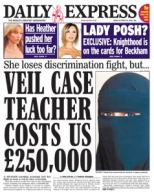 Veil Case Teacher Costs Us