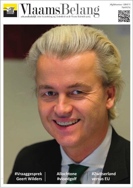 Vlaams Belang Wilders cover